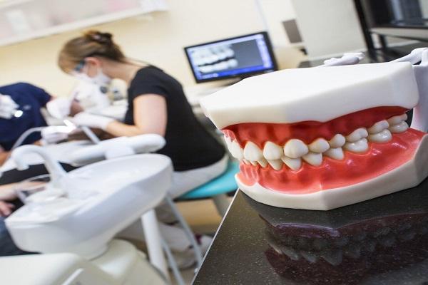 مراجعه به دندانپزشک