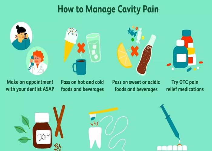 کنترل حساسیت و درد دندان